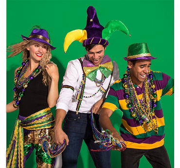 Mardi Gras Easy Outfit Idea