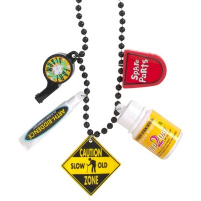 Over the Hill Survival Necklace