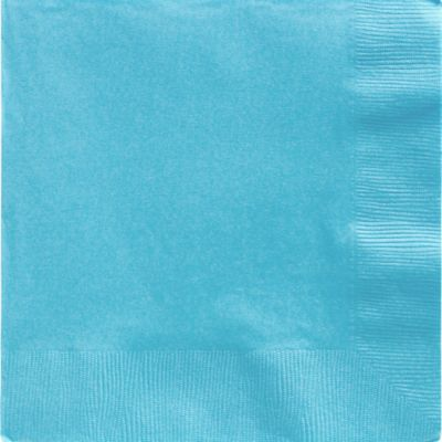 Caribbean Blue Dinner Napkins 20ct