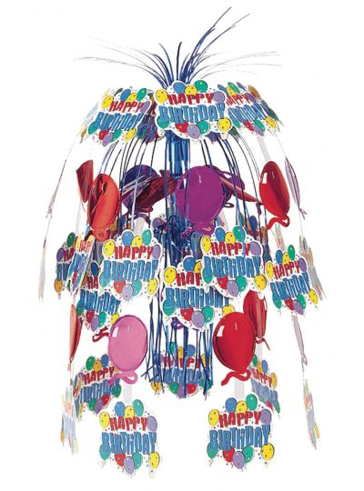 Balloon Party Birthday Foil Chandelier