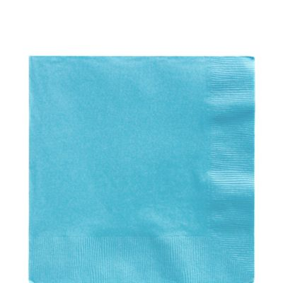 Caribbean Blue Lunch Napkins 50ct