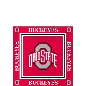 Ohio State Buckeyes Beverage Napkins 16ct
