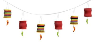 Chili Pepper Lantern Garland
