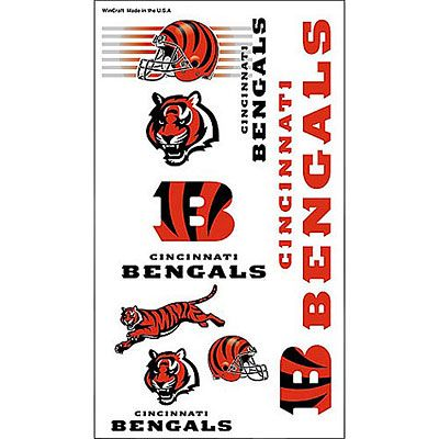 Cincinnati Bengals Tattoos 10ct