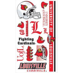 Louisville Cardinals Tattoos 7ct