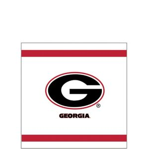Georgia Bulldogs Beverage Napkins 24ct
