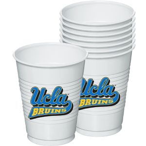 UCLA Bruins Plastic Cups 8ct