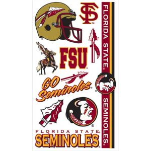 Florida State Seminoles Tattoos 7ct