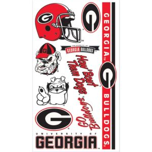Georgia Bulldogs Tattoos 7ct