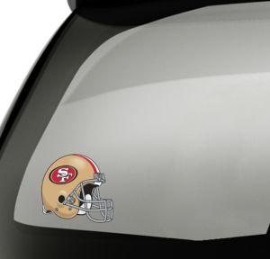 San Francisco 49ers Helmet Decal