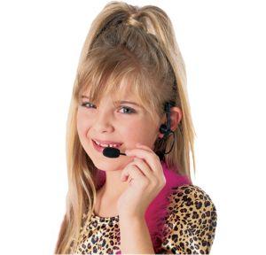 Bubble Gum Headset Microphone