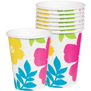Hibiscus White Cups 25ct