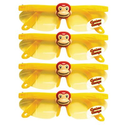 Curious George Sunglasses 4ct