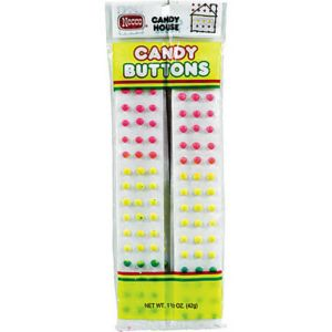 Necco Candy Buttons 8ct