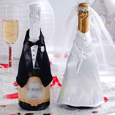 Wedding Celebration Champagne Bottle Wear