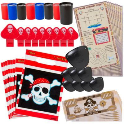 Pirate's Treasure Favor Pack 48pc
