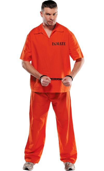 Adult Jail Bird Prisoner Costume