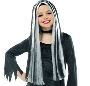 Child Streaked Witch Wig