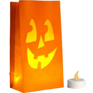 LED Halloween Luminaries 6ct