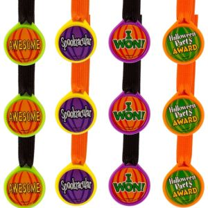 Halloween Award Medals 12ct