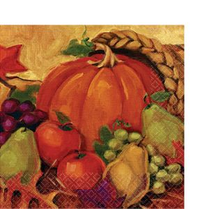 Harvest Still Life Dinner Napkins 16ct