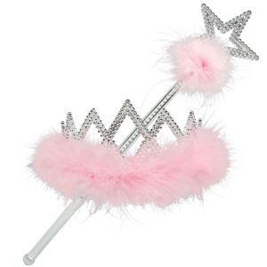 Tiara with Wand Set