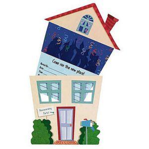 Housewarming Jumbo Invitations 8ct