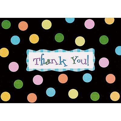 Dotty Thank You Notes 8ct