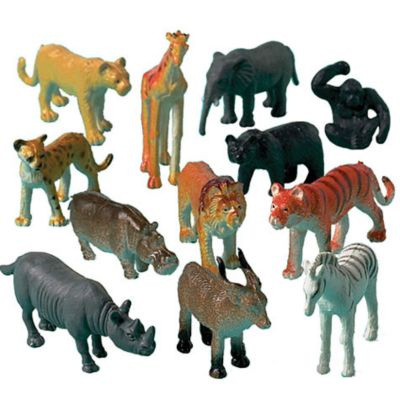 Jungle Animals 12ct