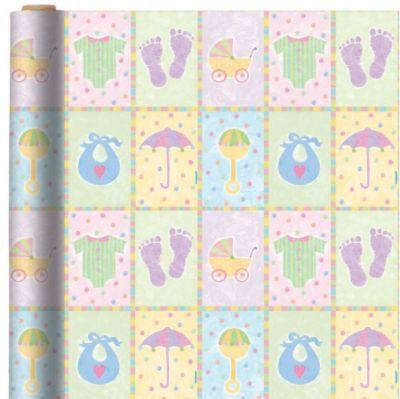 Jumbo Baby Nursery Gift Wrap