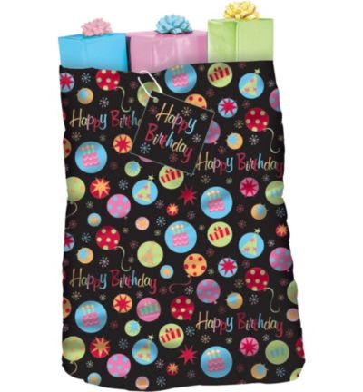Neon Dot Giant Gift Sack