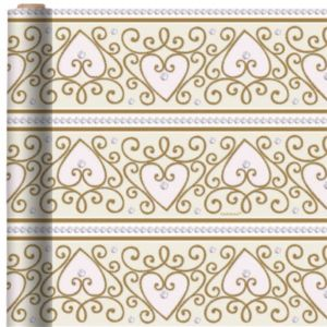 Jumbo Ornate Heart Gift Wrap