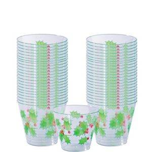Holly Cups 40ct