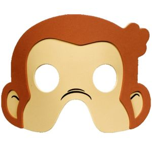 Curious George Masks 4ct