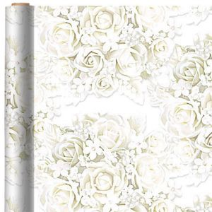 Flower and Pearl Gift Wrap
