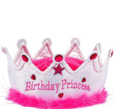 Plush Birthday Princess Crown