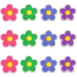 Wilton Dancing Daisy Icing Decorations 12ct