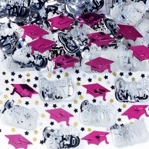 Metallic Berry Graduation Confetti