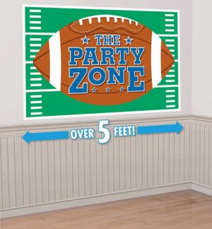 Giant Football Party Sign