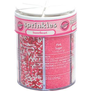 Sweetheart 6-Mix Sprinkles 7.2oz