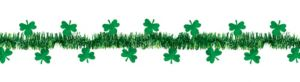 Shamrock Tinsel Garland