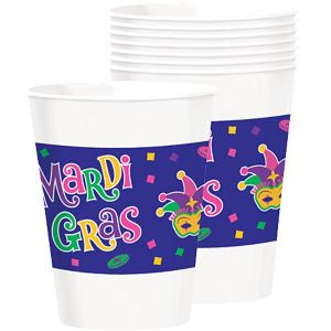 Mardi Gras Party Cups 25ct