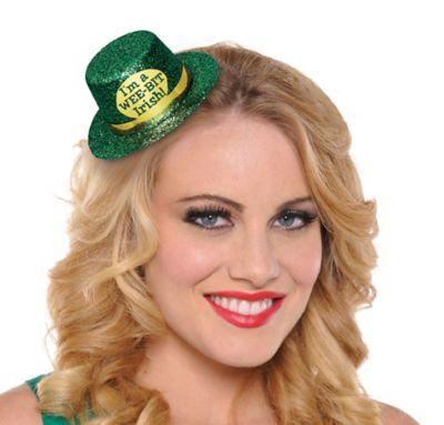 Wee Bit Irish Mini Top Hat