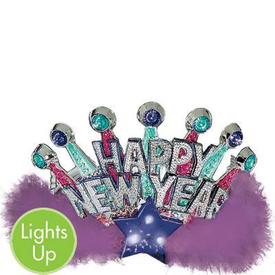 Light-Up New Year's Tiara
