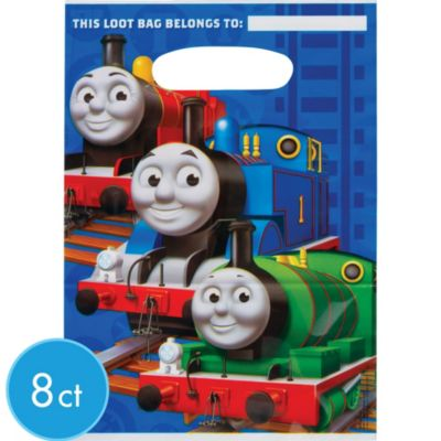 Thomas the Tank Engine Favor Bags 8ct