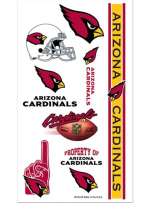 Arizona Cardinals Tattoos 7ct
