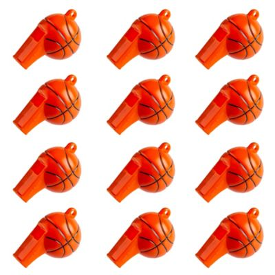Basketball Whistles 12ct