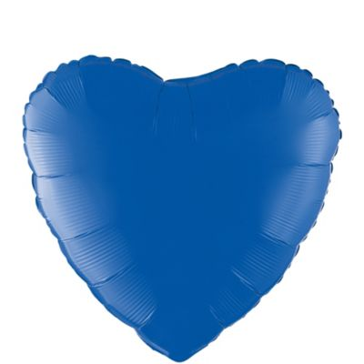 Blue Heart Balloon