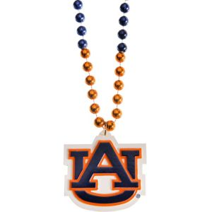 Auburn Tigers Pendant Bead Necklace