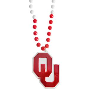 Oklahoma Sooners Pendant Bead Necklace